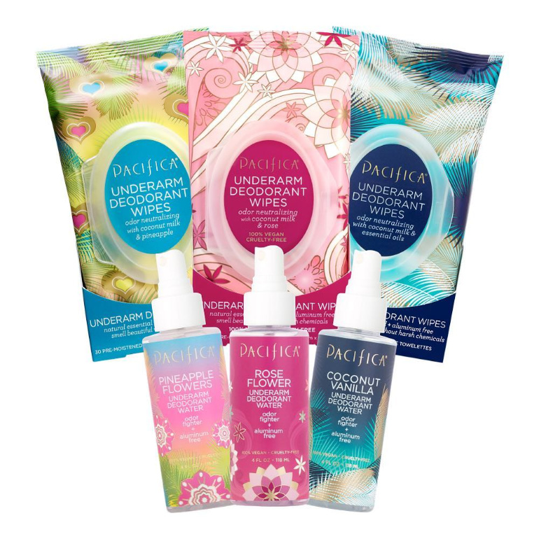 Pacifica Deodorant Products
