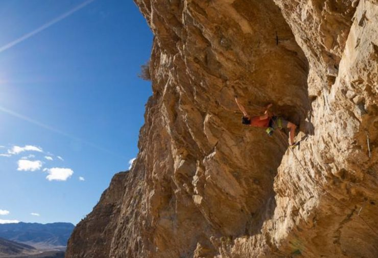 Alex Honnold from Free Solo Climbing