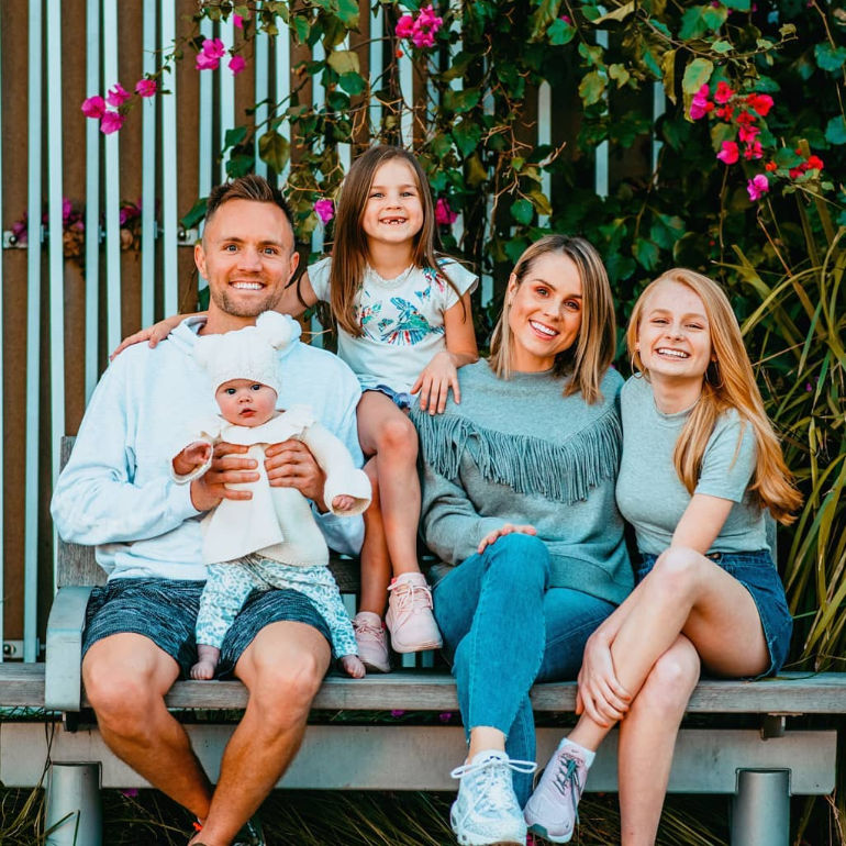 Georgia Fizz and Family