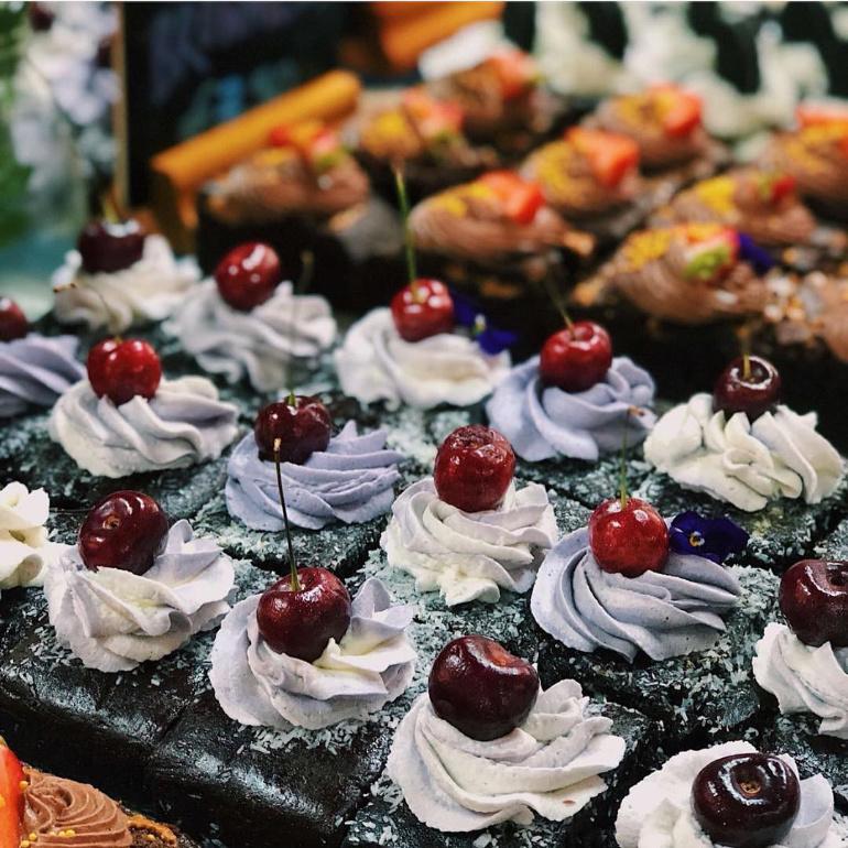 Leles cupcakes at Soho Vegan Market