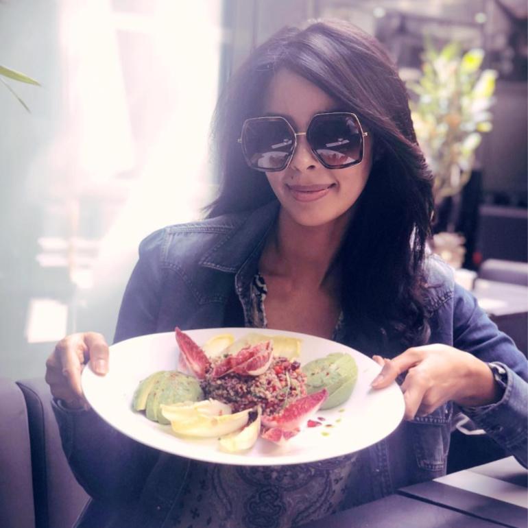 Mallika Sherawat Eating Vegan