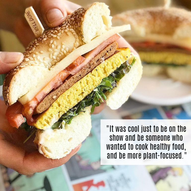 Real Fake Meats Sandwich and Quote