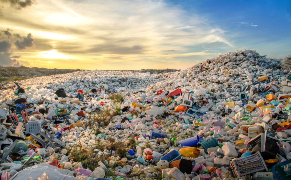 Plastic Waste Disposal Site