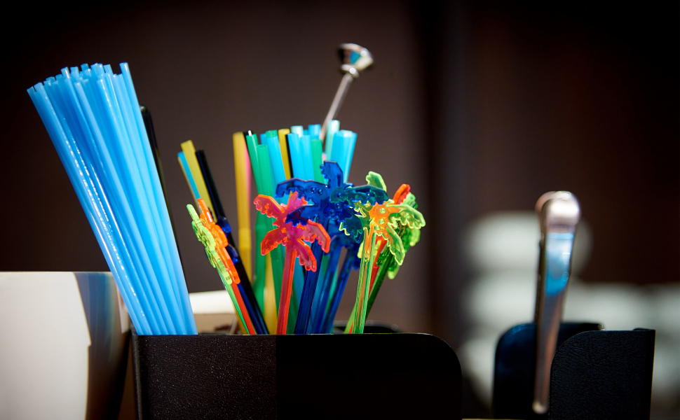 Plastic Stirrers and Straws