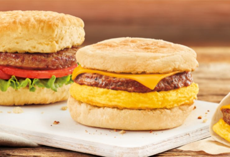Tim Horton's Beyond Meat Sandwiches